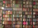Bangles on display, India