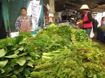 Herbs on sale, Bangkok market tour