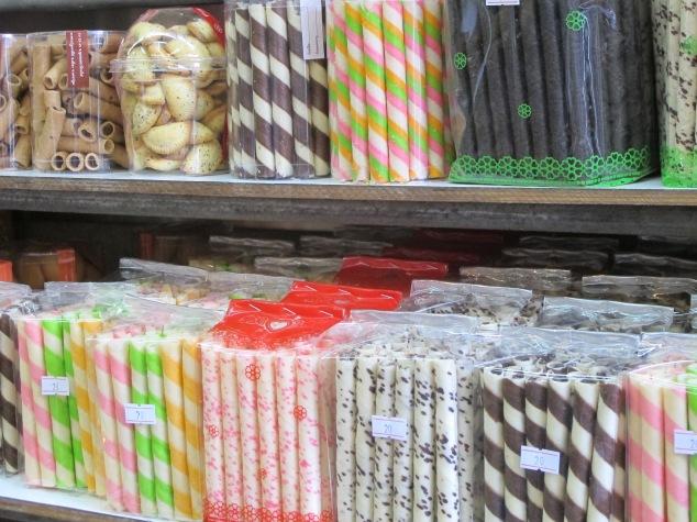 Biscuits, Bangkok markets