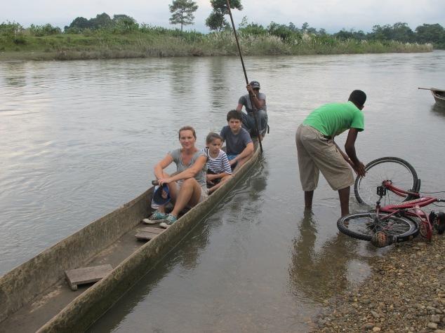Canoe ride, Chitwan, Nepal