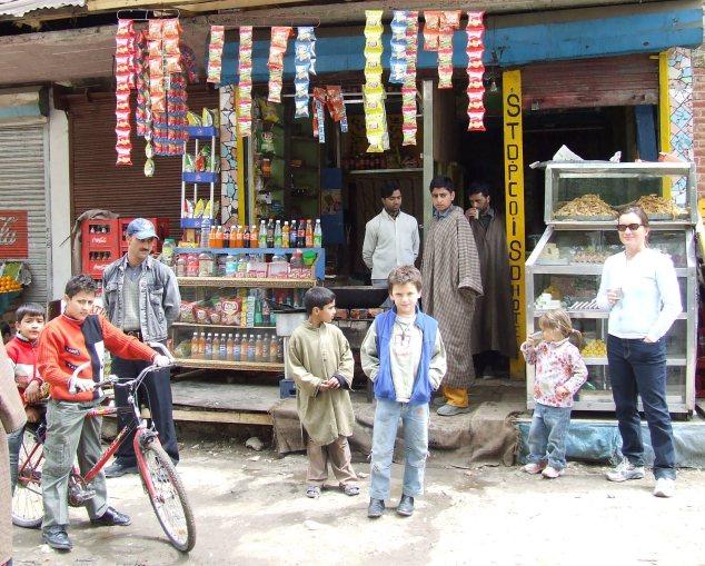 Chai stop, Kashmir, India