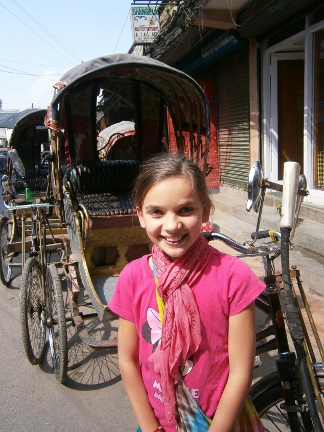 Cycle rickshaw, Thamel