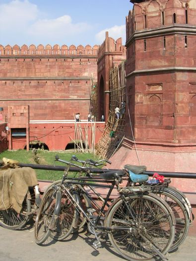 Bicycles, Red Fort, Delhi