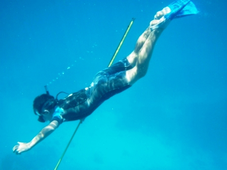 Spearfishing, Northwest Island